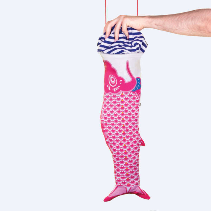 the koinobori laundry bag was inspired by the classic carp shaped japanese wind 9
