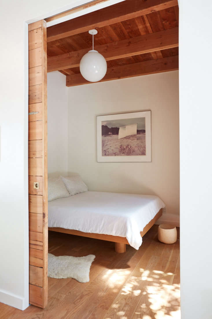 &#8\2\20;the bed was a custom piece designed by lisa and built by our cabin 15