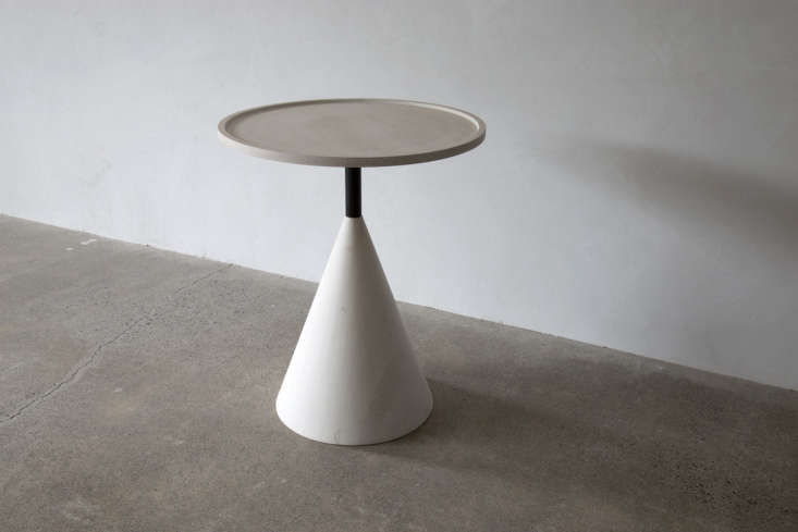 The coordinating Cone Side Table starts at $6,0.