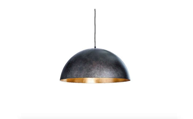 SC Fabrication fabricated the custom lightweight concrete pendant light. For a similar look, try the Sigmund Pendant Light by Regina Andrea; available in two sizes, from $4.37, at YLighting.