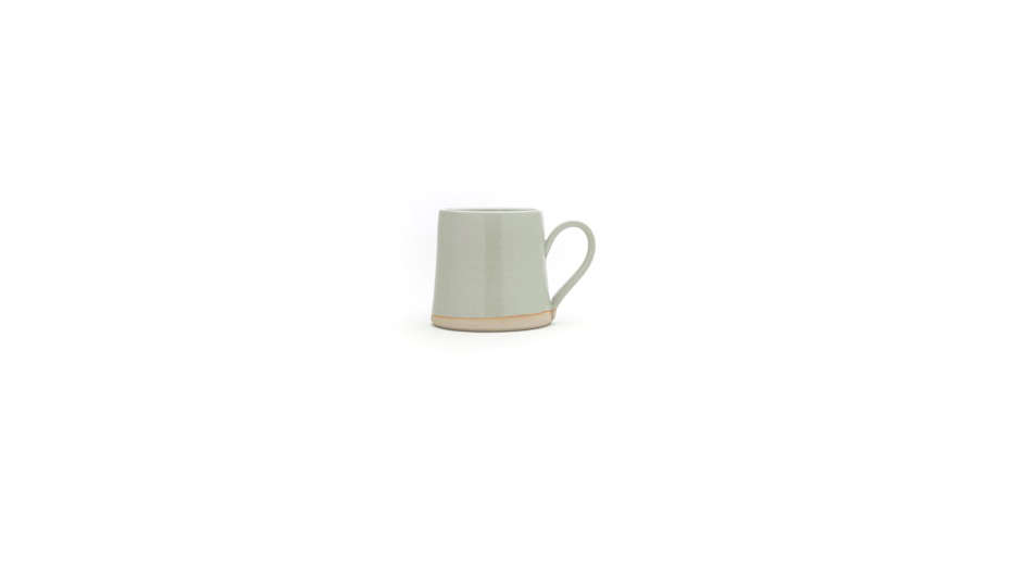 The handmade Stone Mugs by W/R/F Lab are $ each.