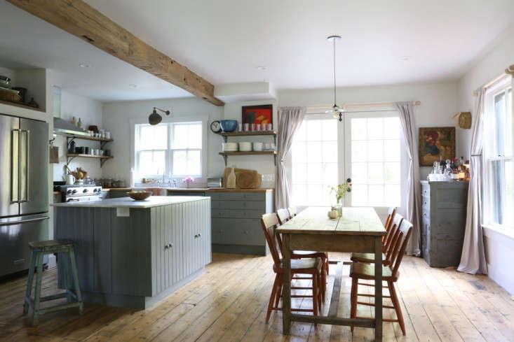Modern farmhouse kitchen, upstate NY remodel by Amanda Pays. Rebecca Westby photo.