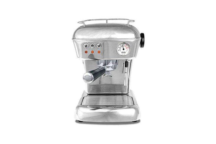 the ascaso dream espresso machine features a vintage design and solid aluminum  12