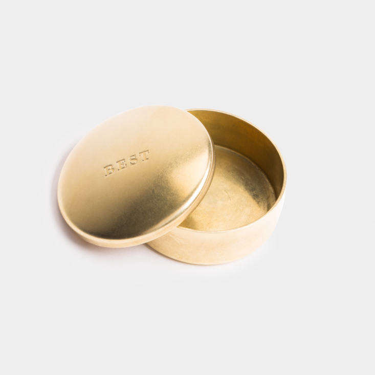 Best Made Solid Brass Snuff Box