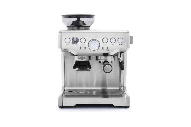 the breville barista express espresso machine is a professional style semi auto 17