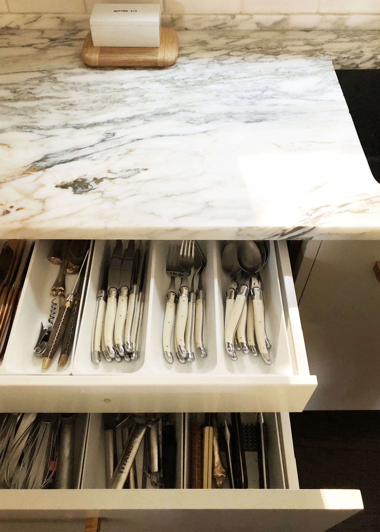 The most-used drawers: &#8
