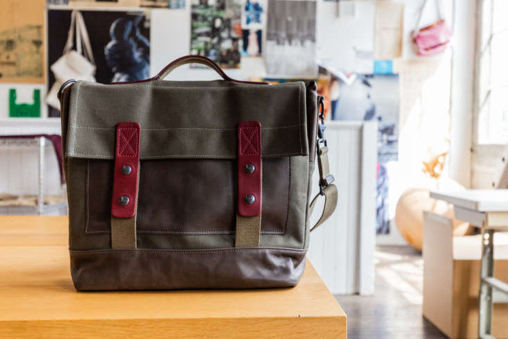 The inaugural piece of the Heath Sews collection, the Heath + Stein Supply Bag, was a collaboration with bag maker Sherry Stein and fits a -inch laptop. (This bag is not included in the giveaway.)