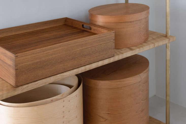 Japanese company Ifuji makes handmade Cherry Wood Shaker Boxes. They&#8