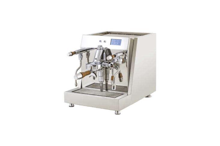 the m&v vesuvius dual boiler espresso machine features a touchscreen pid wi 11
