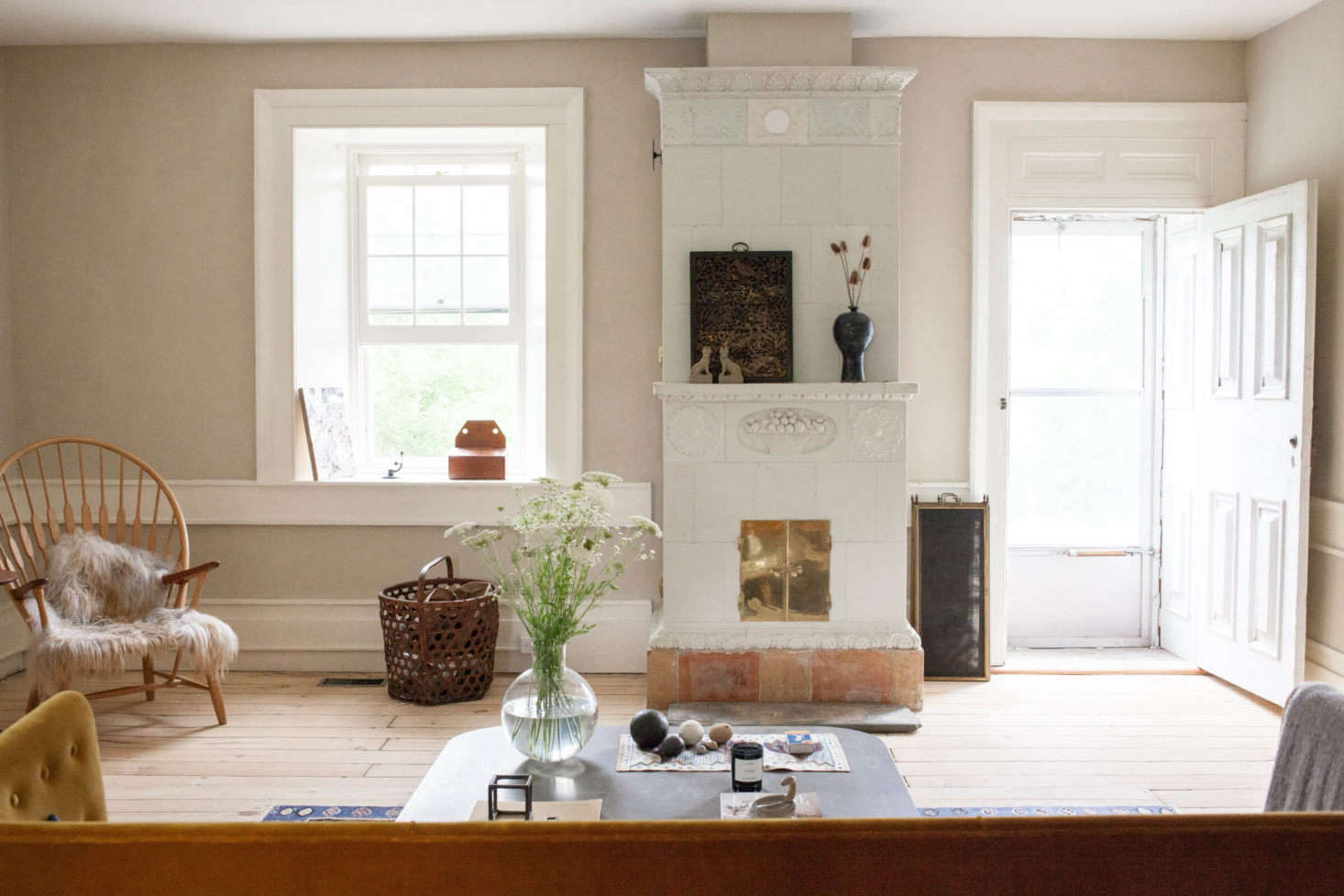Revisiting a favorite rustic winter project: An Antique Stone House Revived, from John and Juli Baker of Mjolk in Toronto.