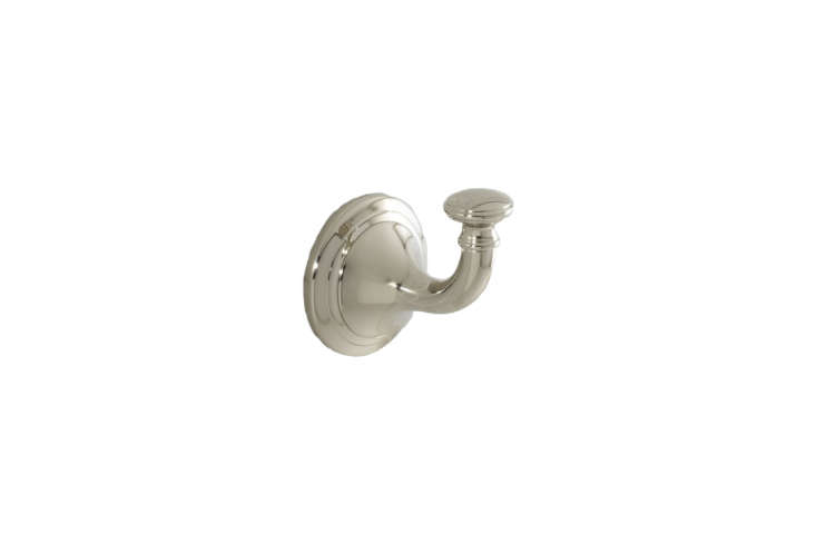 the pottery barn mercer hook in four different finishes is \$\19. 15