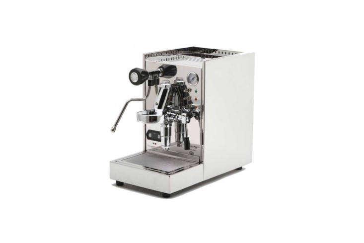 the quick mill alexia evo espresso machine is a semi automatic lever action sin 9