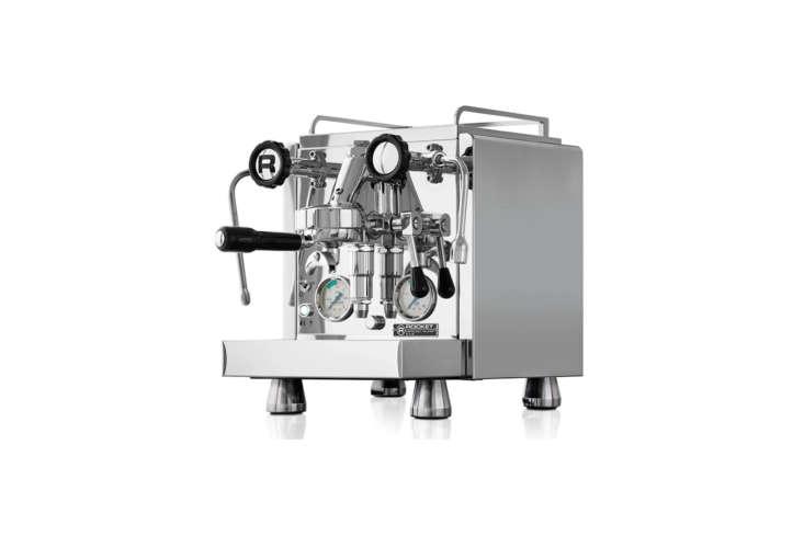 the rocket espresso giotto evoluzione r58 dual boiler espresso machine has, as  20