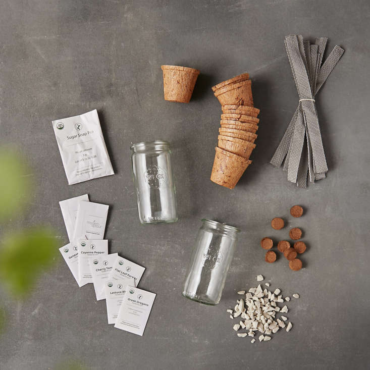 from terrain, the kitchen garden seed starting kit, \$40, contains everything y 23