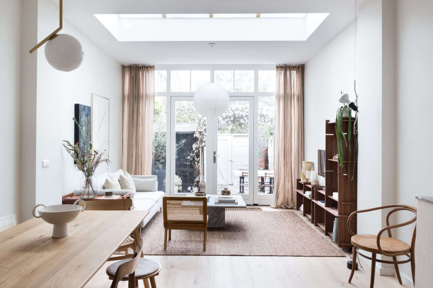 Steal This Look An Interior Designer S High Low Scandi Living Room Ikea Sofa Included Remodelista