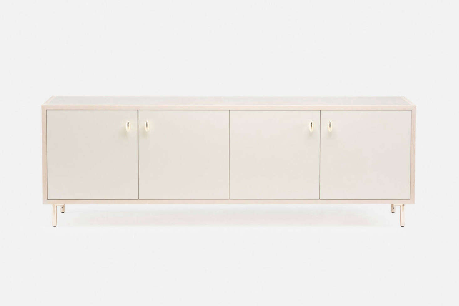 By Jason Miller for De La Espada, the Classon Sideboard was made to complement Brooklyn brownstone buildings; $src=