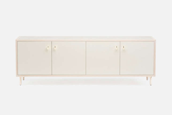 By Jason Miller for De La Espada, the Classon Sideboard was made to complement Brooklyn brownstone buildings; $loading=