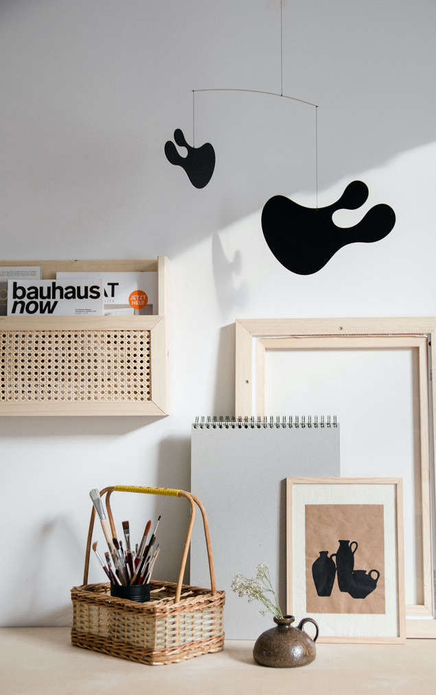 Remodelista Greatest Hits 2020 8 Economical DIY Rattan Projects Antonia Schmitz of Craftifair, in Cologne, Germany, built this DIY Wooden Magazine Holder from scratch. Scroll to the end of our roundup to see Antonia&#8\2\17;s materials. Photograph courtesy of Craftifair.
