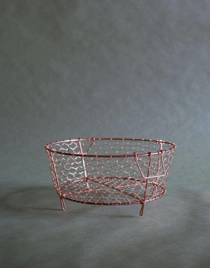 kanaami copper kyoto copper basket