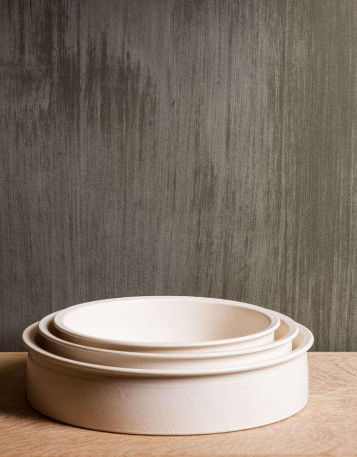 minka otani pottery ceramic ovenware pans set of 3
