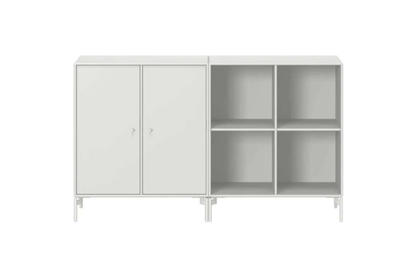 By Peter J. Lassen for Montana Møbler, the Pair Sideboard with Legs comes in a wide array of colors; $