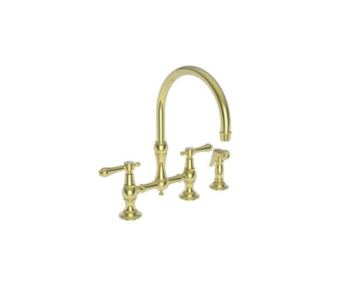newport brass&#8\2\17;s chesterfield bridge faucet is available in a slew o 25