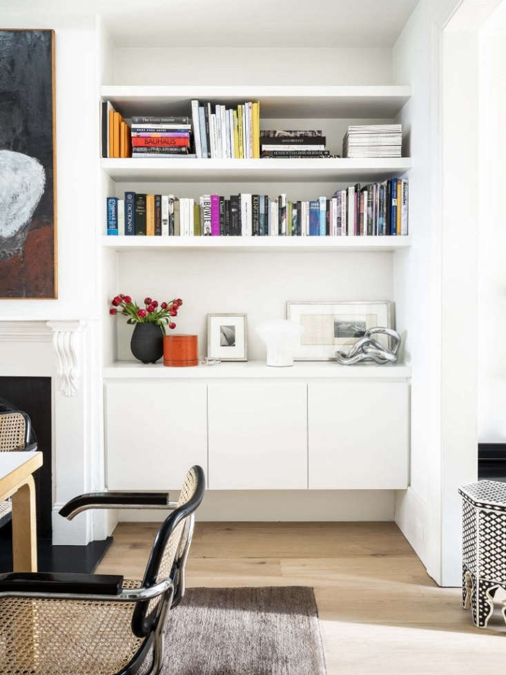 built in storage, wherever you can fit it, is crucial for organized living in a 13