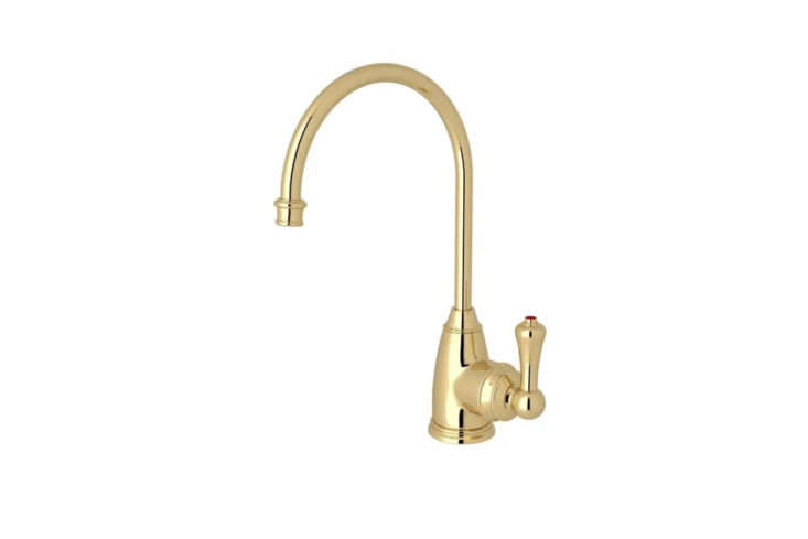 The Rohl Georgian Era Hot Water Faucet (U.07LS) comes in six different finishes starting at $507 at Quality Bath.