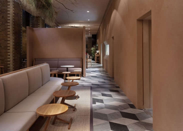 the restaurant is divided into three sections—a bar/lounge area ( d here), th 10