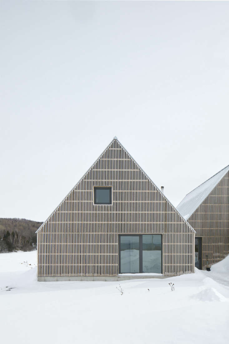 The house rises from a plateau in the Eastern Townships hamlet of Hatley, an hour-and-a-half south of Montreal near the Vermont border. It&#8