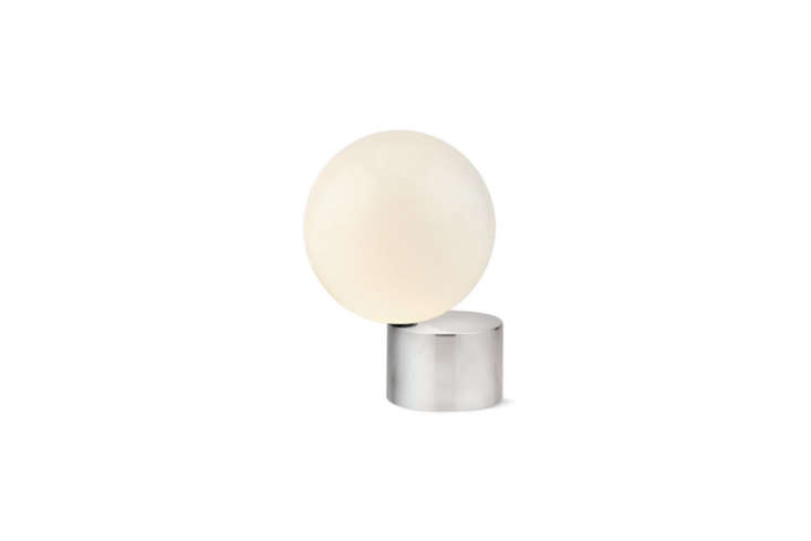 michael anastassiades&#8\2\17;s tip of the tongue table lamp is made with a 16