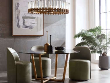 Mitchell Gold + Bob Williams Margaux Dining Modern Table Round