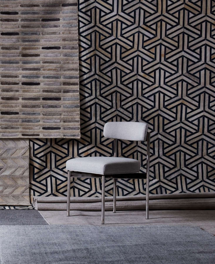 MG+BW also offers a variety of rugs; we like the hand-loomed Symmetry Rug and the geometric, hand-stitched Zanzibar Rug.