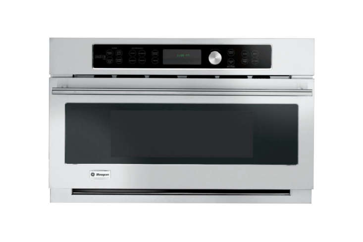 the monogram 30 inch electric single wall speed oven (zsc\1\20\1jss) heats with 12