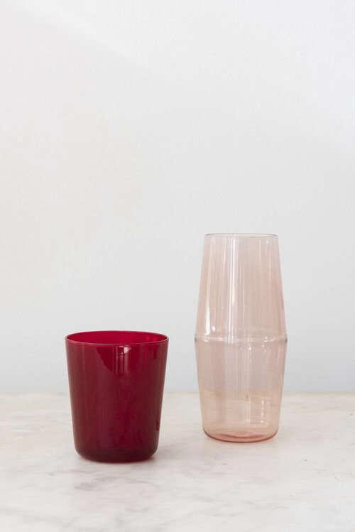 sunday shop r d glassware bon nuit bedside carafe