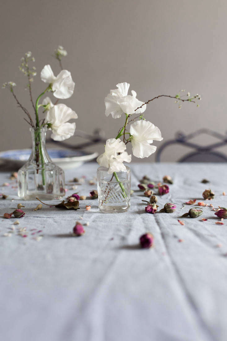 let the table be a little beautifully imperfect, not prim or overdone. &# 14