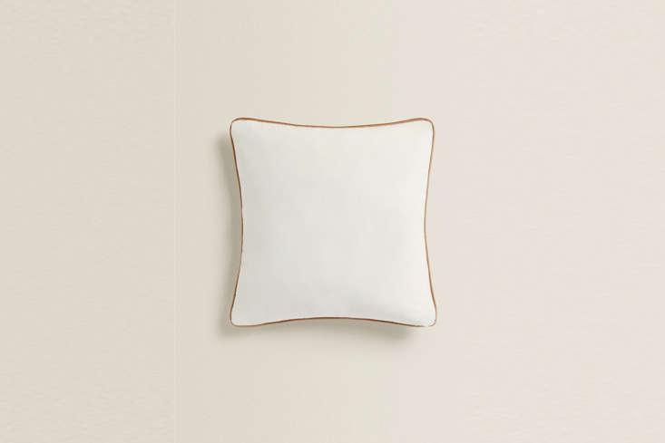 zara home&#8\2\17;s velvet throw pillow comes in two mirror colorways: crea 9