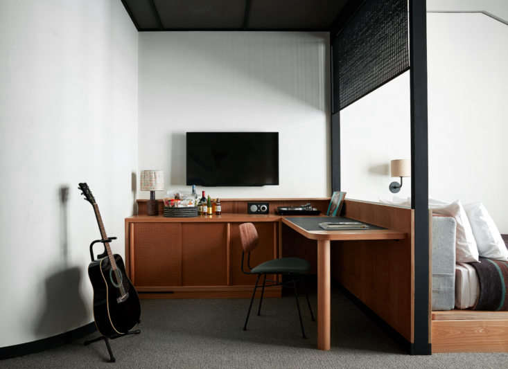 ace hotel kyoto offers eight different types of guest rooms, from a standard ki 9