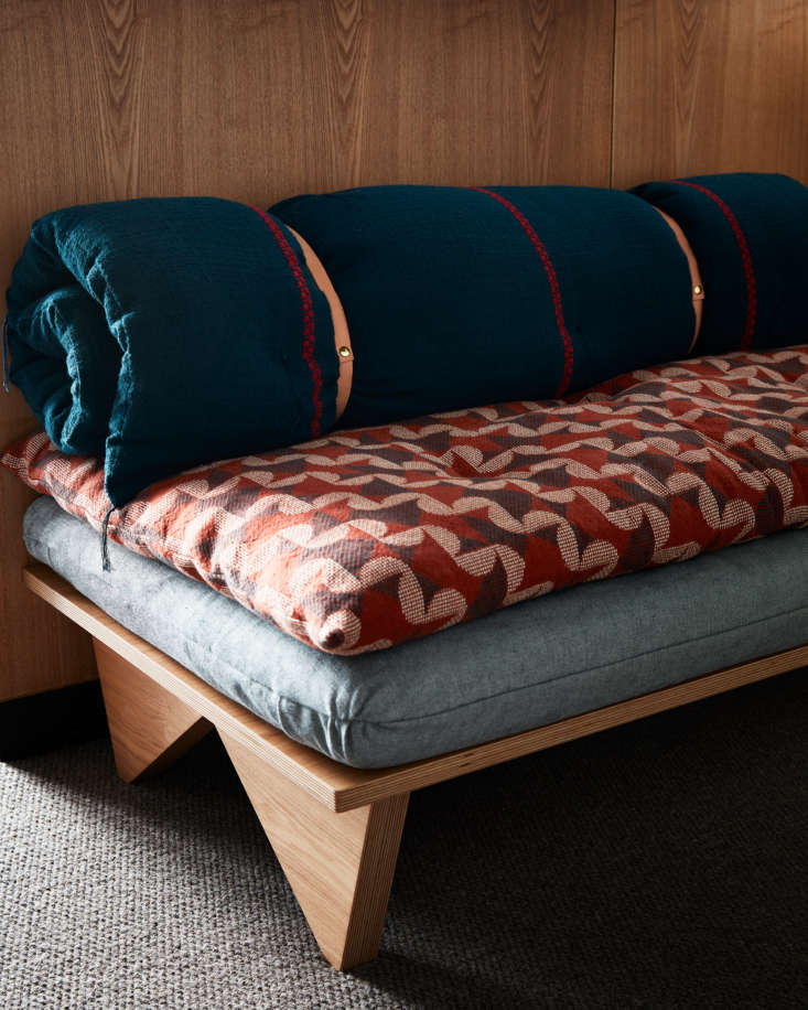The Commune-designed daybeds are locally crafted. &#8