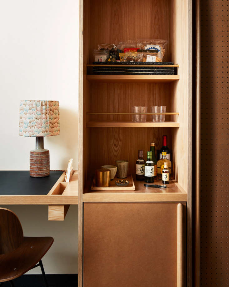 Commune designed the built-ins and worked with local craftsmen to bring them to life. &#8