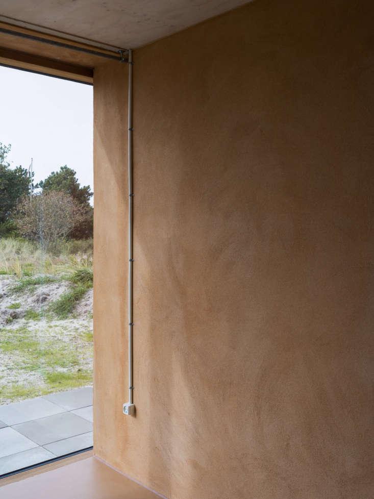 fano house lenschow pihlmann plaster wall