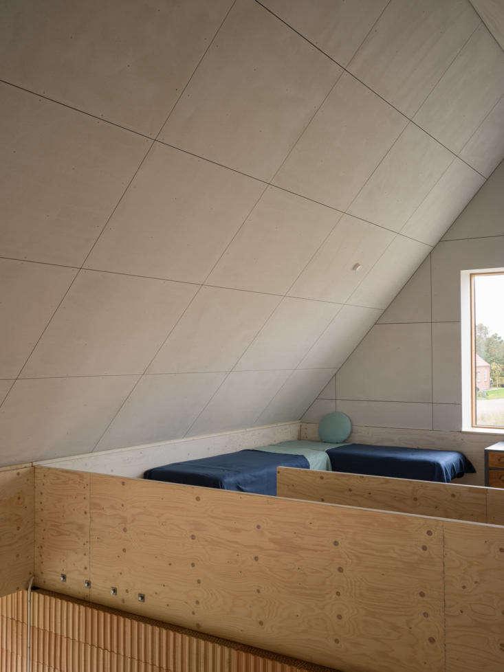 a sleep loft offers additional accommodations. 17