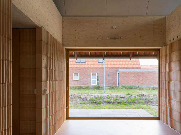 the house was designed as essentially two separate living quarters under one ro 16