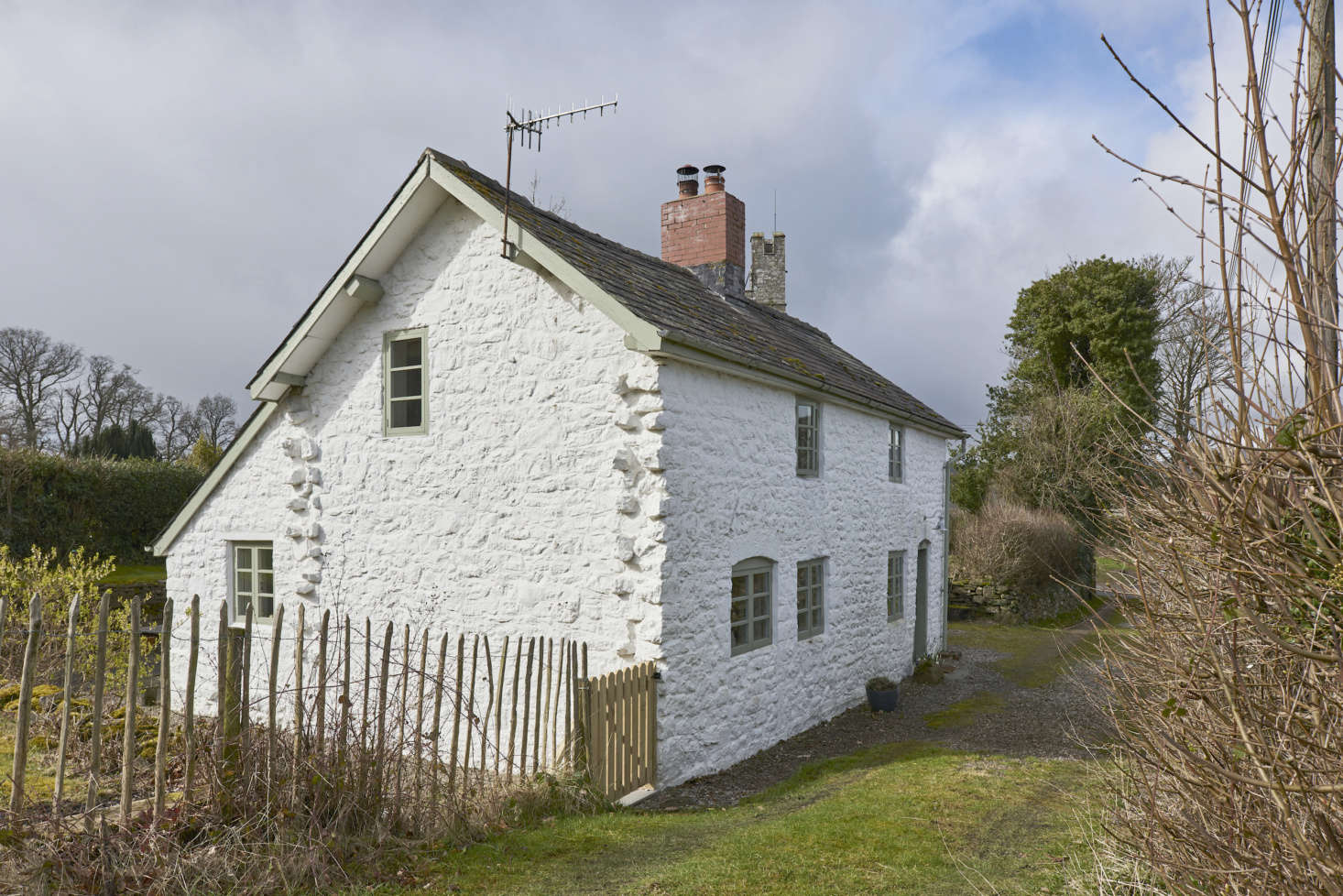 The cottage, which is said to have been built in 7