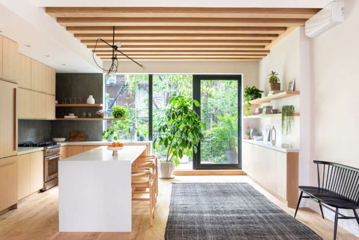 The existing kitchen was &#8