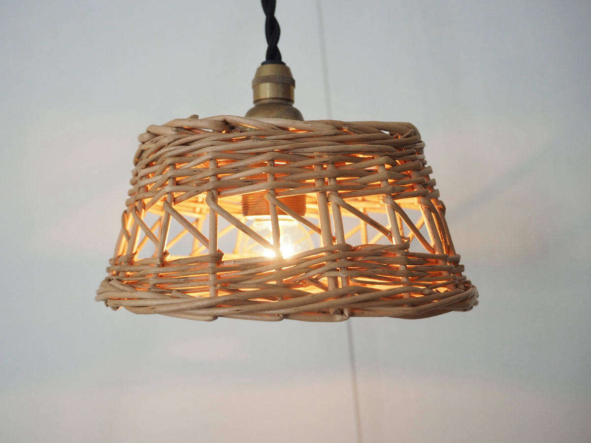 The Basket Lamp Shade is $