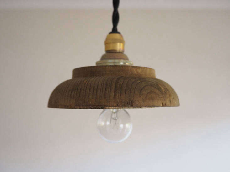 makie wood pendant