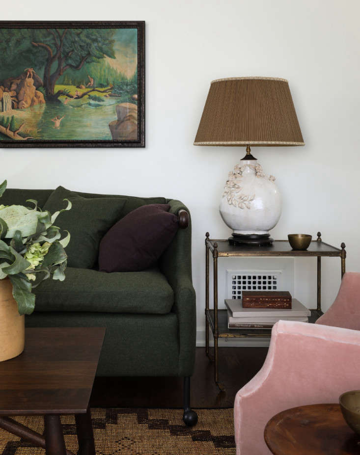 The furnishings are a mix of craftsman-made, modern-heirloom pieces and vintage, all selected for scale and comfort–and to look collected over time. BDDW&#8