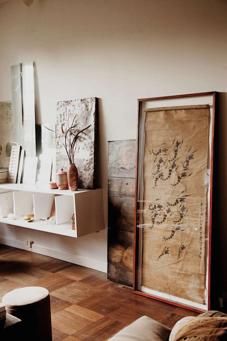 Susanne is a world traveler; her home is a showcase for all the art she&#8