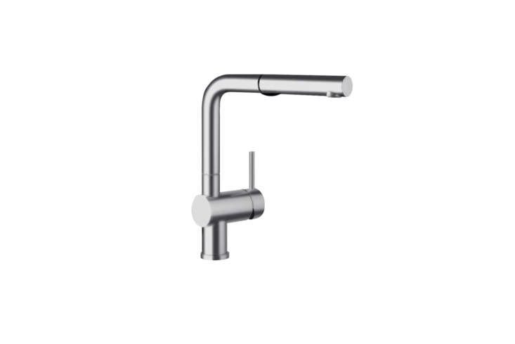 The Blanco Linus Single Hole Pull-Out Kitchen Sink Faucet is $347.75 at Build.com.